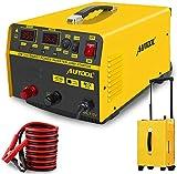 MRCARTOOL Caricabatteria 12V / 24V 400A per Veicolo d'avviamento di Emergenza 20A Adatto per Auto, Moto, Tosaerba, Camper, SUV, ATV