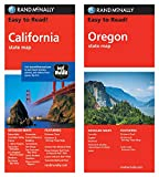 Rand McNally State Maps: California and Oregon (2 Maps)
