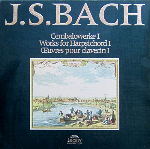 J.S. Bach (Gesamtausgabe, Vol. 10): Cembalowerke I / Works for Harpsichord I [Vinyl Schallplatte] [11 LP Box-Set]