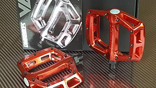 DMR V8 Pedal, Plattform, Aluminium, 9/16 Zoll, Electric Red