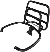 Prima Rear Rack (Fold Down, Black); Vespa GTS