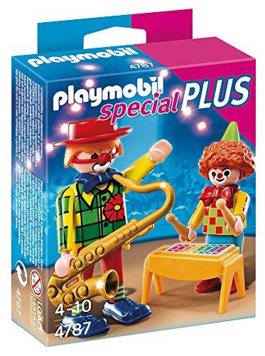 PLAYMOBIL Especiales Plus - Payasos con Instrumentos, playset (4787)