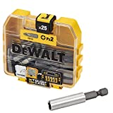 <span class='highlight'>DEWALT</span> DT71706-QZ PZ2 Screw<span class='highlight'>driver</span> Bit Set with Display and 40 Magnetic Holders, 25 Piece (Pack of 40)