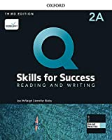 Q: Skills for Success: Level 2: Reading and Writing Split Student Book A with iQ Online Practice