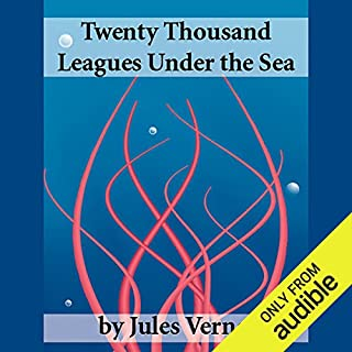 Twenty Thousand Leagues Under the Sea audiobook cover art