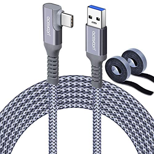 aceyoon Cable para Oculus Link 6M/20ft, USB 3.1 Gen 1 a USB...