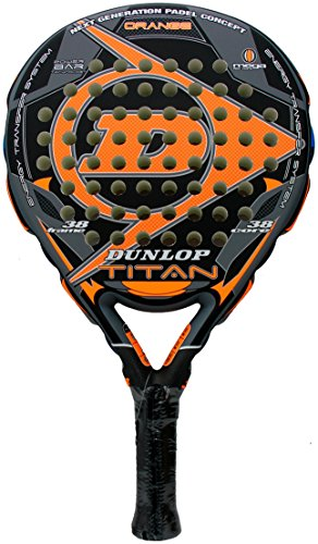 Dunlop - Pala de Padel Titan, Naranja (Orange)