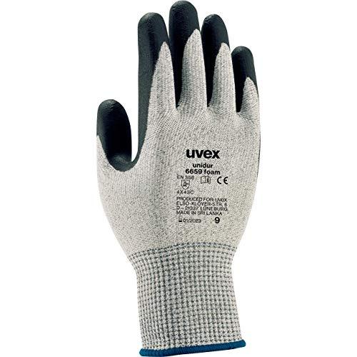 Uvex Unidur 6659 Foam Schnittschutzhandschuhe - 1 Paar Schnittfestige Arbeitshandschuhe 10/XL