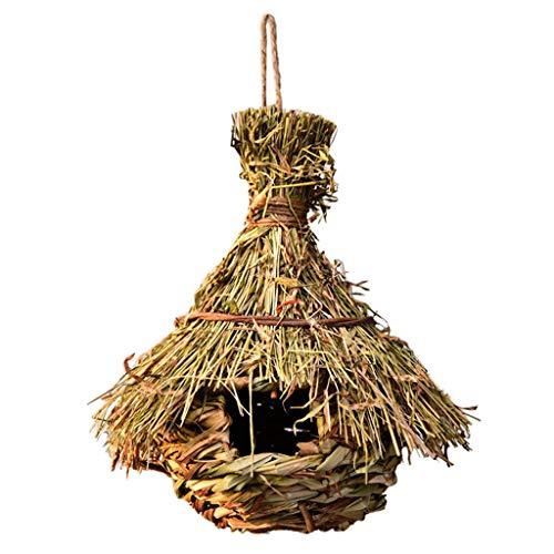 Baoblaze Casita para Pájaros para Colgar en El Exterior, Casa de Colibrí,...