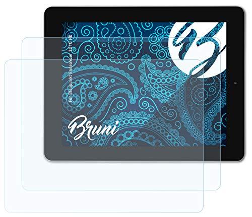Bruni Schutzfolie kompatibel mit Blaupunkt Endeavour 1010 HD Folie, glasklare Bildschirmschutzfolie (2X)