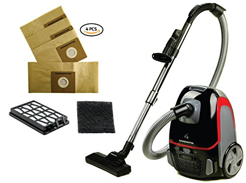 Review OVENTE ST1600B + ACPST16041 Canister Vacuum ST1600 Series (Black Bundle)
