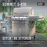 Weber 7170001 Summit S-470 4-Burner Liquid...