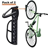 Wallmaster Bike Rack Garage Wall Mount Bicycles Hanger 2-Pack Storage System Vertical Bike Hook for Indoor