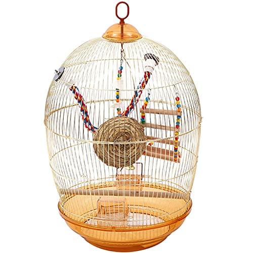 Uccelli Gabbie Gabbia Per Uccelli In Ferro Battuto Gabbia Per Parrocchetti Filo Gabbia Per Uccelli Gabbie Per Uccelli Dorate Decorazione Domestica Per Pappagalli Conures Lovebird Cockatiel Parrocchett