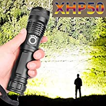 Drop Shipping xhp50.2 Most Powerful Flashlight 5 Modes USB Zoom led Torch xhp50 18650 or 26650 Battery Best Camping, Outdo...