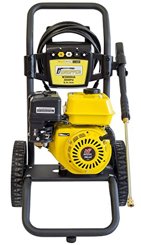 ✦ Petrol Pressure Washer 3000 PSI ✦ 196cc Petrol Engine Powered High Pressure Portable Jet...