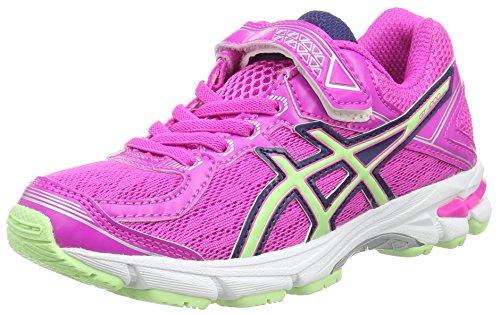 ASICS Unisex-Kinder Gt-1000 4 Ps Sneaker, Pink (pink Glow/Pistachio/Indigo Blu 3587), 27 EU