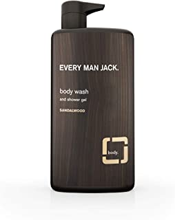 Every Man Jack Body Wash, Sandalwood 33.8-ounce