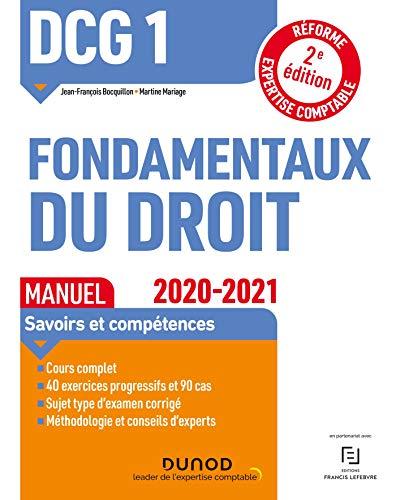 DCG 1 Fondamentaux du droit - Manuel - 2020/2021 (2020-2021)