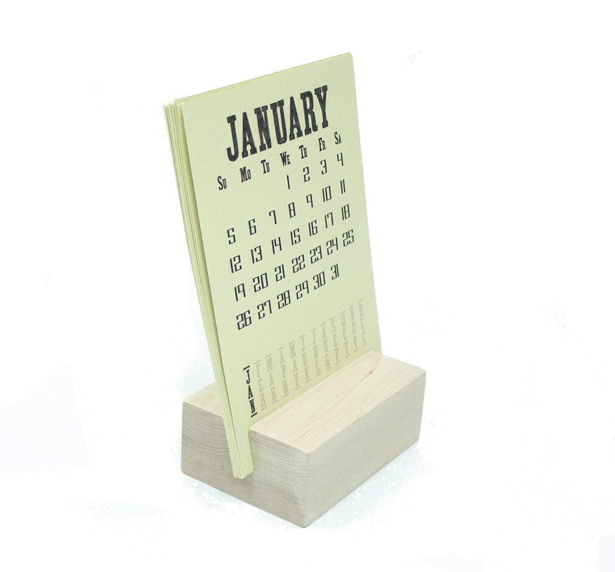 2021 Desk Calendar Max 74% OFF with Our shop most popular Wood Stand Block