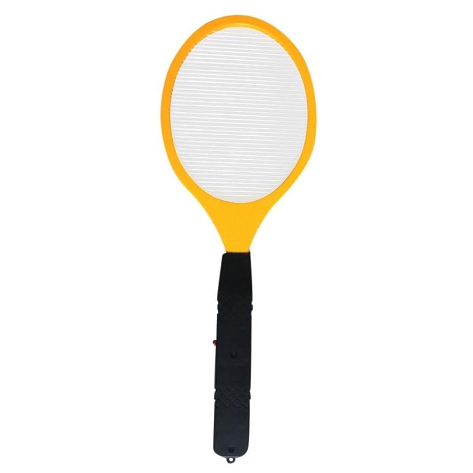 スロープ消費者お酢Swatter、vanvlerフライバグLarge Electric Mosquito Killerラケットforインドアアウトドアペストコントロール M イエロー Vanvler Flycatcher