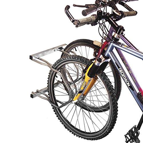 Mottez - Aparcabicicletas (2 Bicicletas, 2 Niveles)