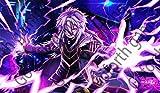 Lightning Anime Wizard TCG CCG MTG YGO playmat...