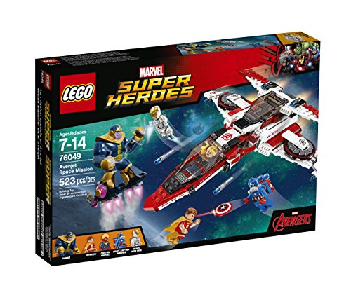 LEGO Super Heroes Avenjet Space Mission Kit (523 Piece)