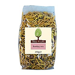 A savoury, crunchy, healthy snack a blend of nuts, pulses and crunchy cereals with spicy seasoning Ready to eat Enjoy at home or on the go!