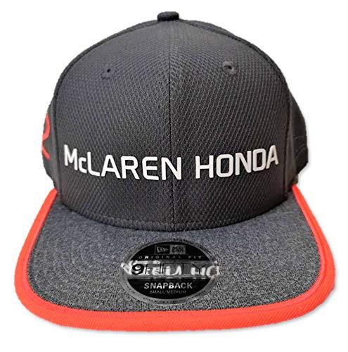McLaren Honda F1 Team Vandoorne - Gorra de ajuste plano nº 2, color gris