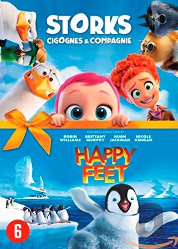 DVD - Storks + Happy Feet (1 DVD)