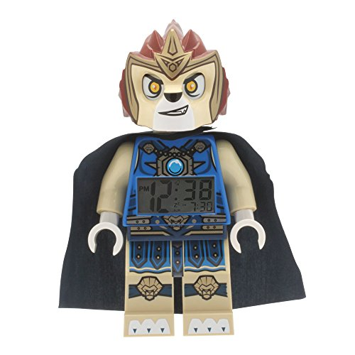 ClicTime - 9000560  - Lego Legends of Chima Laval Minifiguren Wecker - mehrfarbige