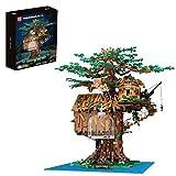 KEAYO Mould King 16033 Treehouse Model con luz, 3958 piezas grandes MOC, juego de construcción compatible con casa de árbol Lego