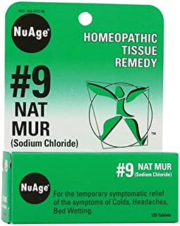 Hyland's Nuage Natrum Mur Medication, 125 Count