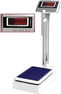 LBBGM Básculas de Altura y Peso, báscula electrónica de precisión, Pantalla LCD Digital de Alta definición, sensores de Alta precisión, 200 kg / 440 Libras