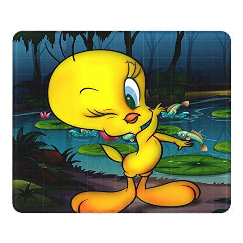 Tw-Eety Bird Mouse Pad Rectangle Rubber Non-Slip Mouse Pad Personalized Gaming Mouse Pads for Laptop Computer 11.8' X 9.8'