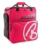 BRUBAKER Super Champion borsa per scarponi da sci con scomparto casco colore neon fuchsia ...
