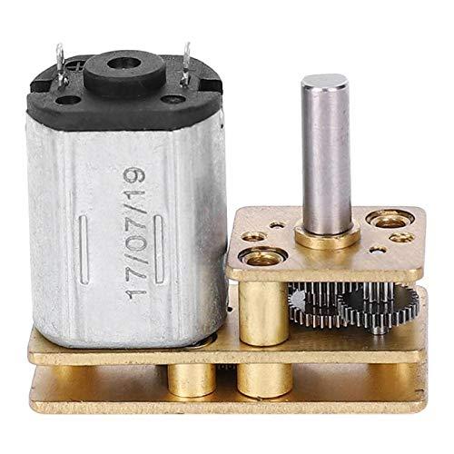 Jeanoko Motor de Engranaje Alto Motor de reducción de Velocidad de Baja Velocidad Accesorios para Herramientas eléctricas Accesorio mecánico para máquina de Corte para máquina...