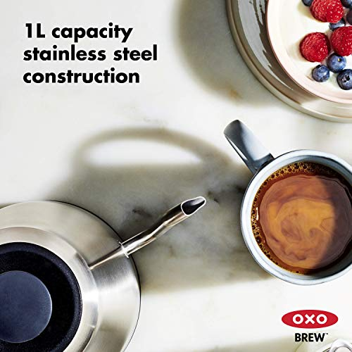 OXO(オクソー)『ドリップケトル温度調整&タイマー機能付(8717100)』