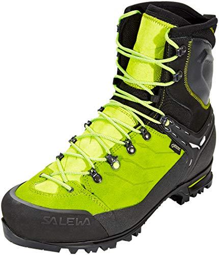Salewa Men's Vultur EVO GTX Mountaineering Boots Black/Cactus 7