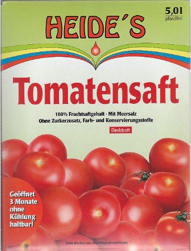 Tomatensaft, 5 Liter