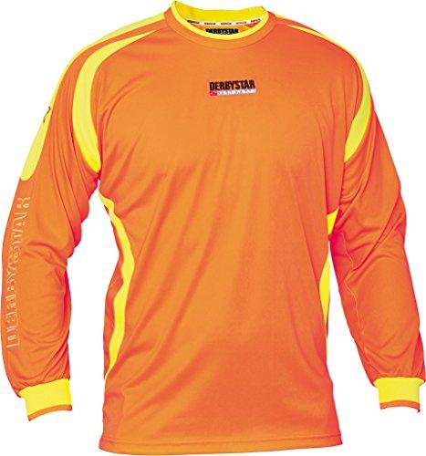 Derbystar Torwarttrikot Aponi, 116, orange gelb, 6663116750