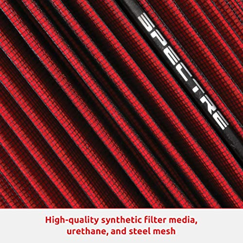 Spectre Engine Air Filter: High Performance, Premium, Washable, Replacement Filter: Fits 2002-2020 RAM/DODGE (1500, 2500…
