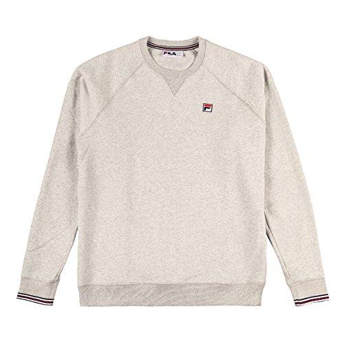 Fila Herren Pozzi Sweatshirt, Grau, L