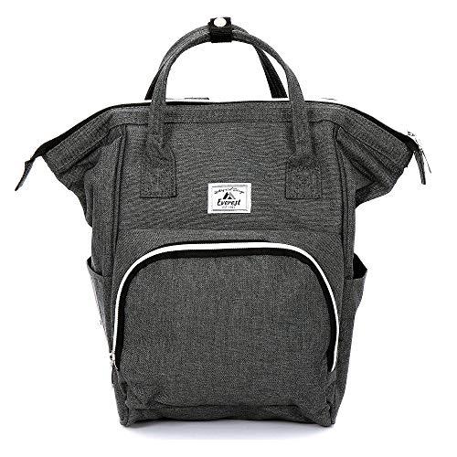 Everest Friendly Mini-Handtaschen-Rucksack, grau (grau) - HP1100-GRY