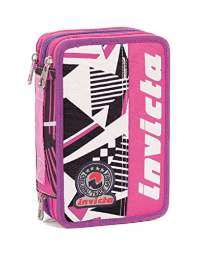 Astuccio 3 zip Invicta MIX