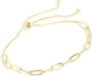 SHASHI Women's Jetsetter Bracelet, Gold, One Size