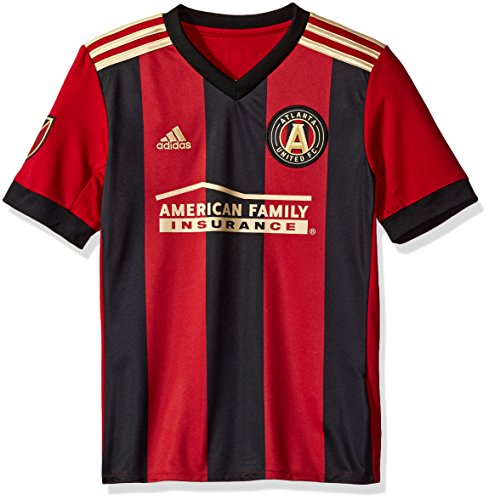 MLS Atlanta United Youth Unisex Replica Wordmark s/jersey, Red, X-Large