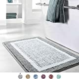 Bathroom Rug Mat, Ultra Soft and Water Absorbent Bath Rug, Bath Carpet, Machine Wash/Dry, for Tub, Shower, and...