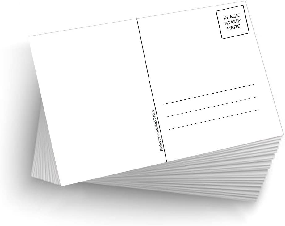 100 Blank Mailable 4